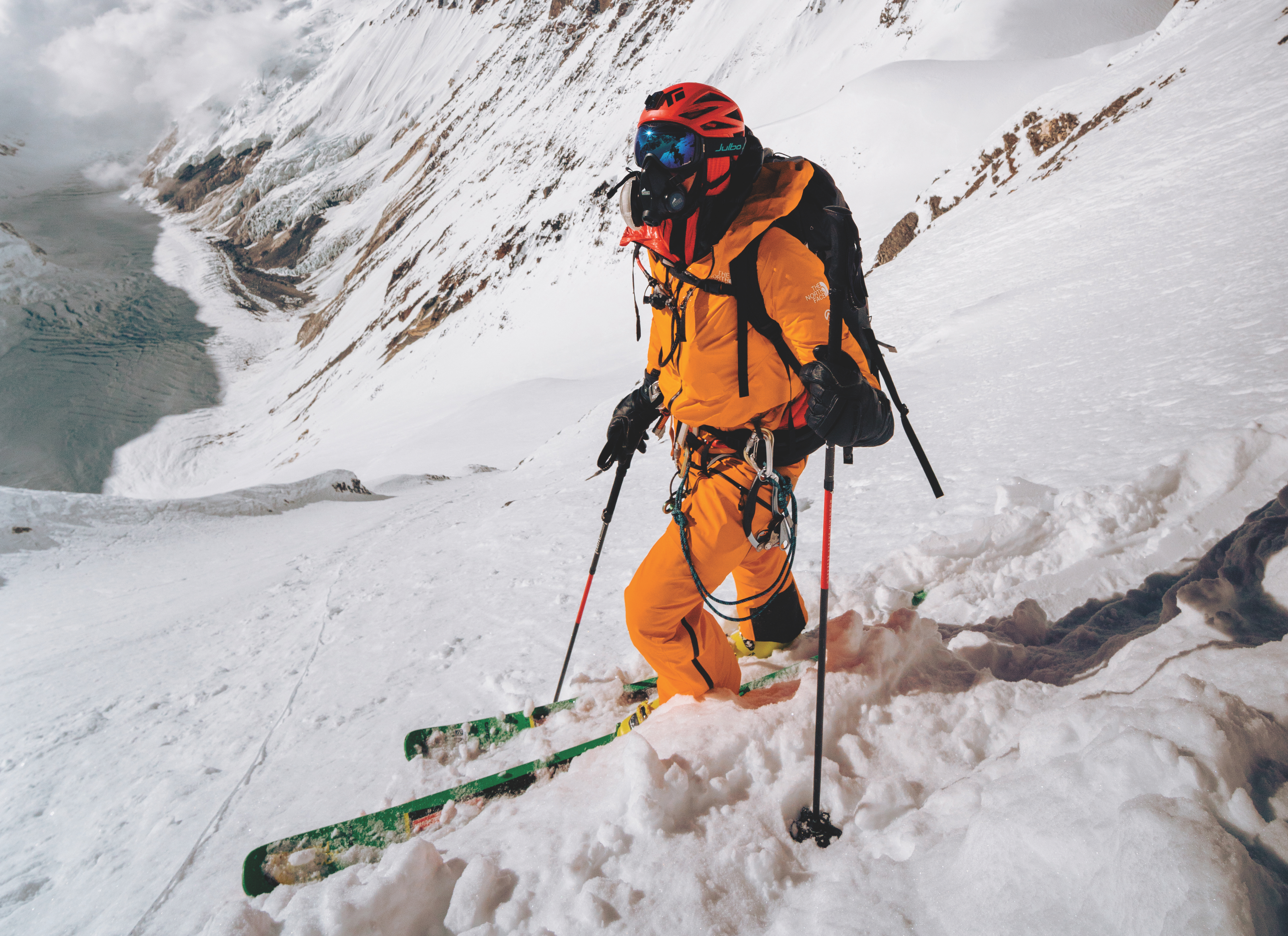 Watch the world's first ski descent of Lhotse