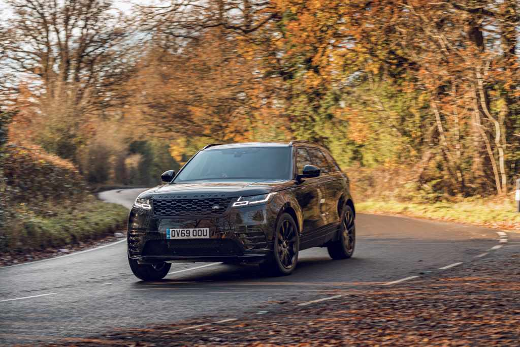 Limited Edition Range Rover Velar R-Dynamic Black announced