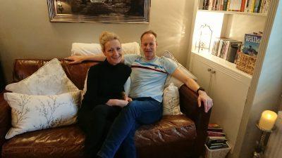Chris and Allie Hodgson Haven Cottage