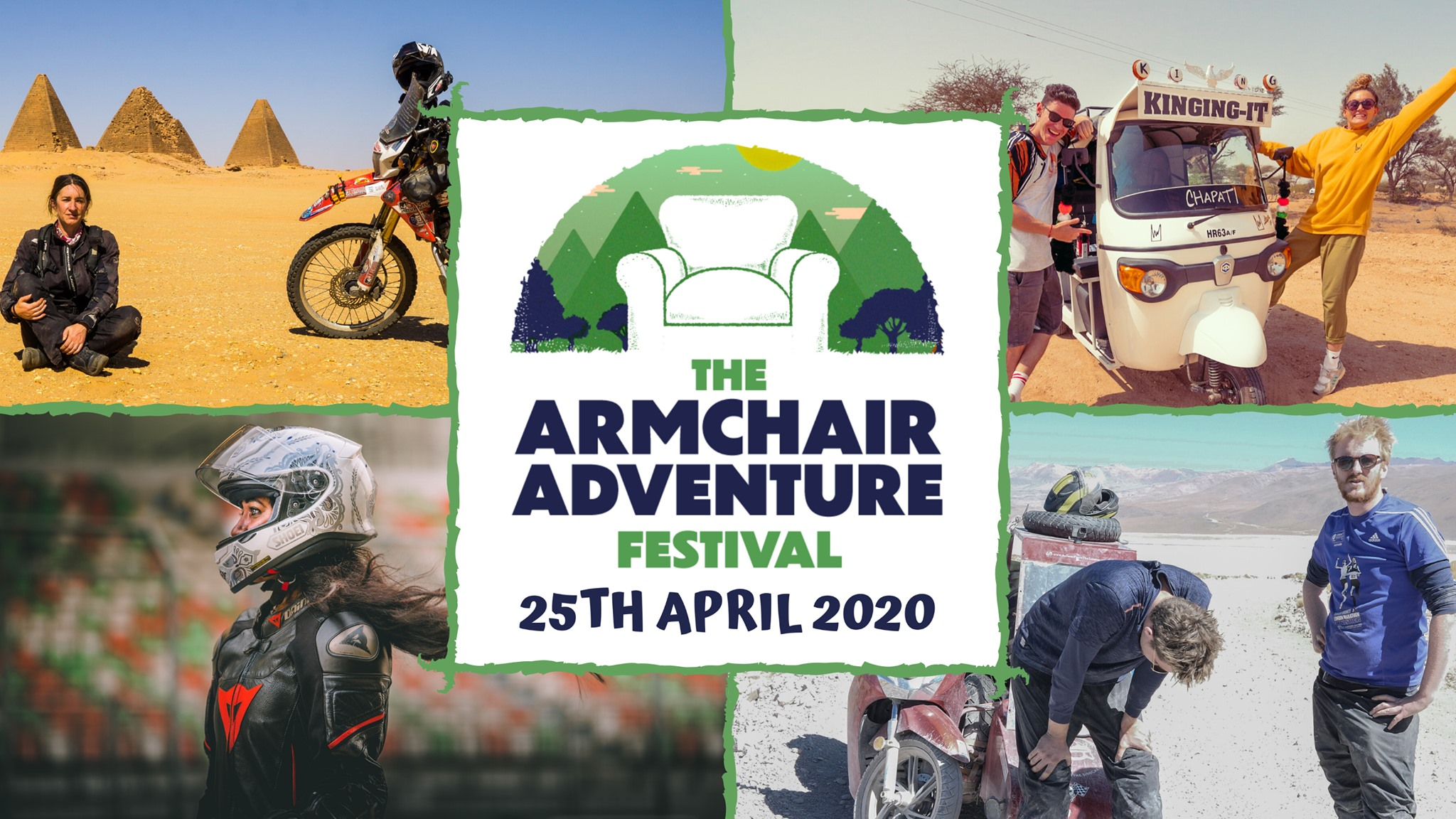 Tune in for the Armchair Adventure Festival
