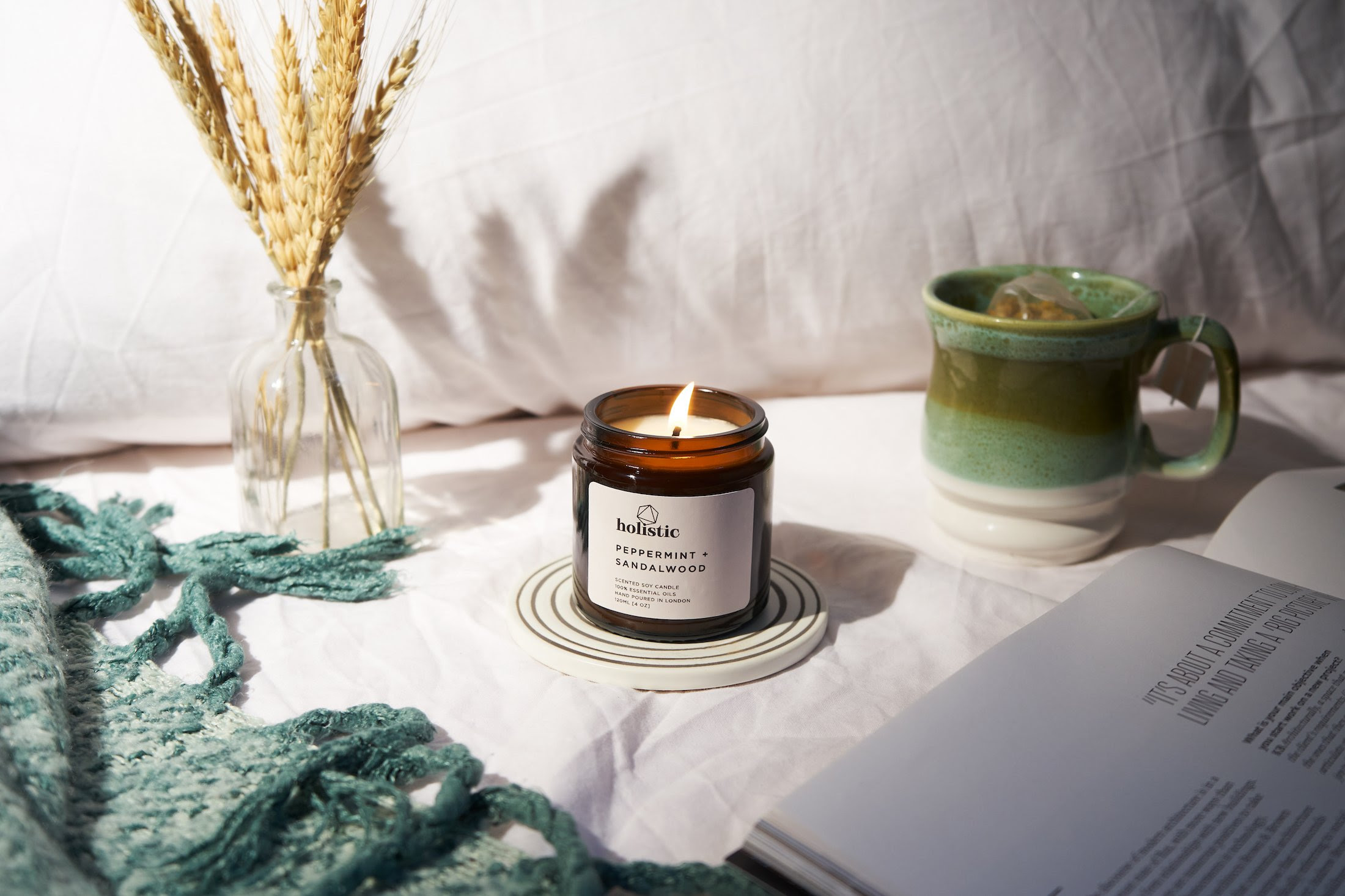 Fragranced candles from Holistic London for the adventurous