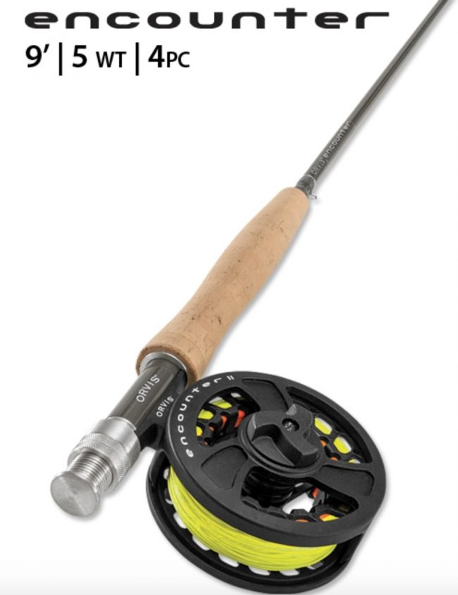 Orvis Encounter Fly Fishing Rod and Reel