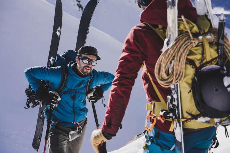 Mountaineering brand Klättermusen introduces its first ski collection