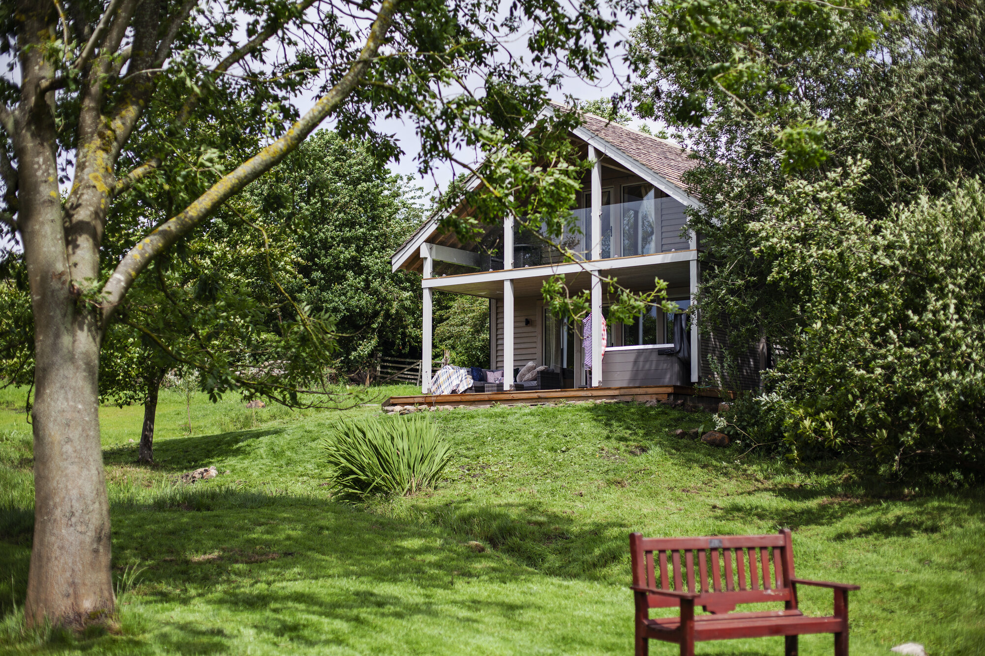 Silver Birch Lodge in the beautiful Yorkshire Dales