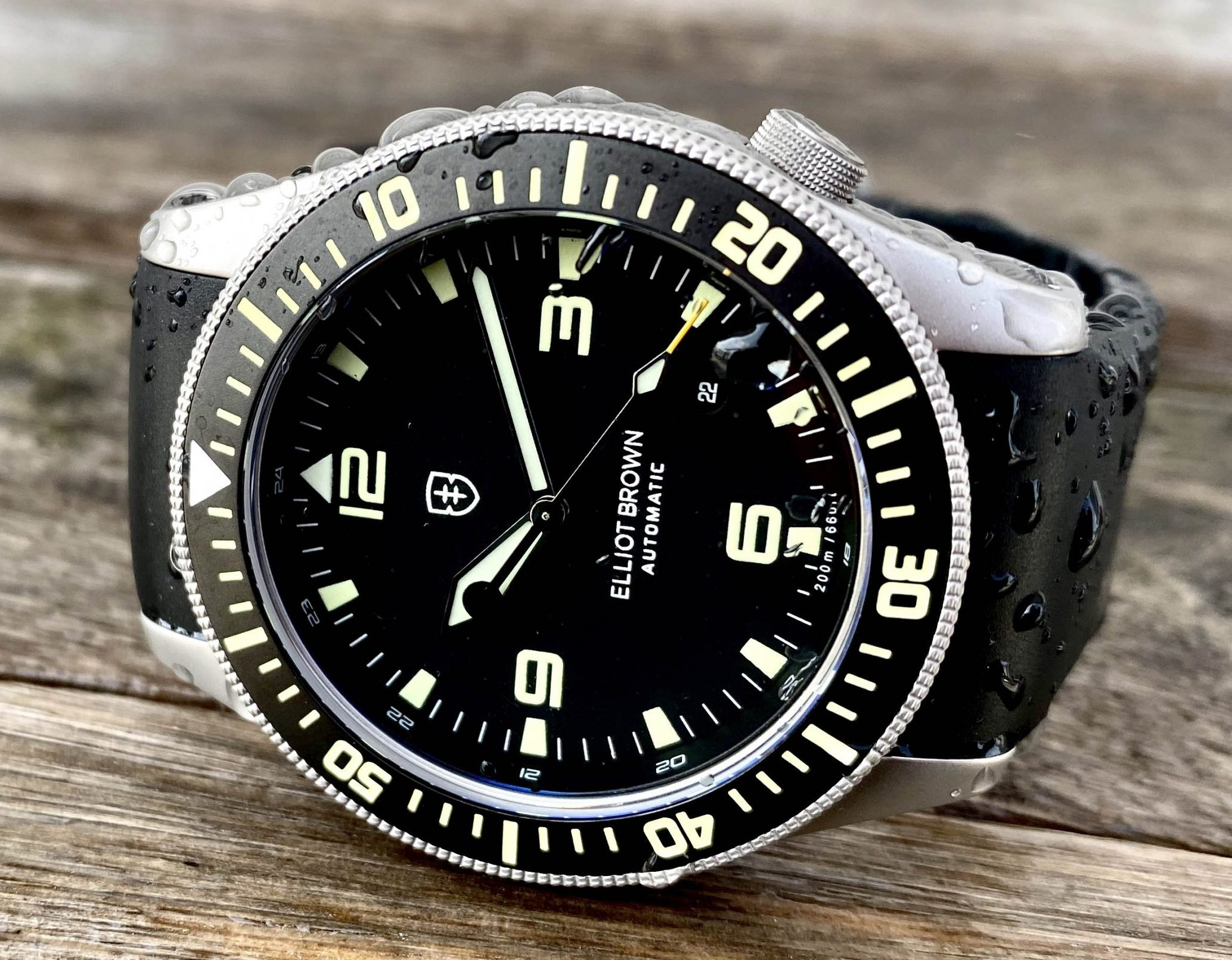 Elliot Brown Holton Automatic watch