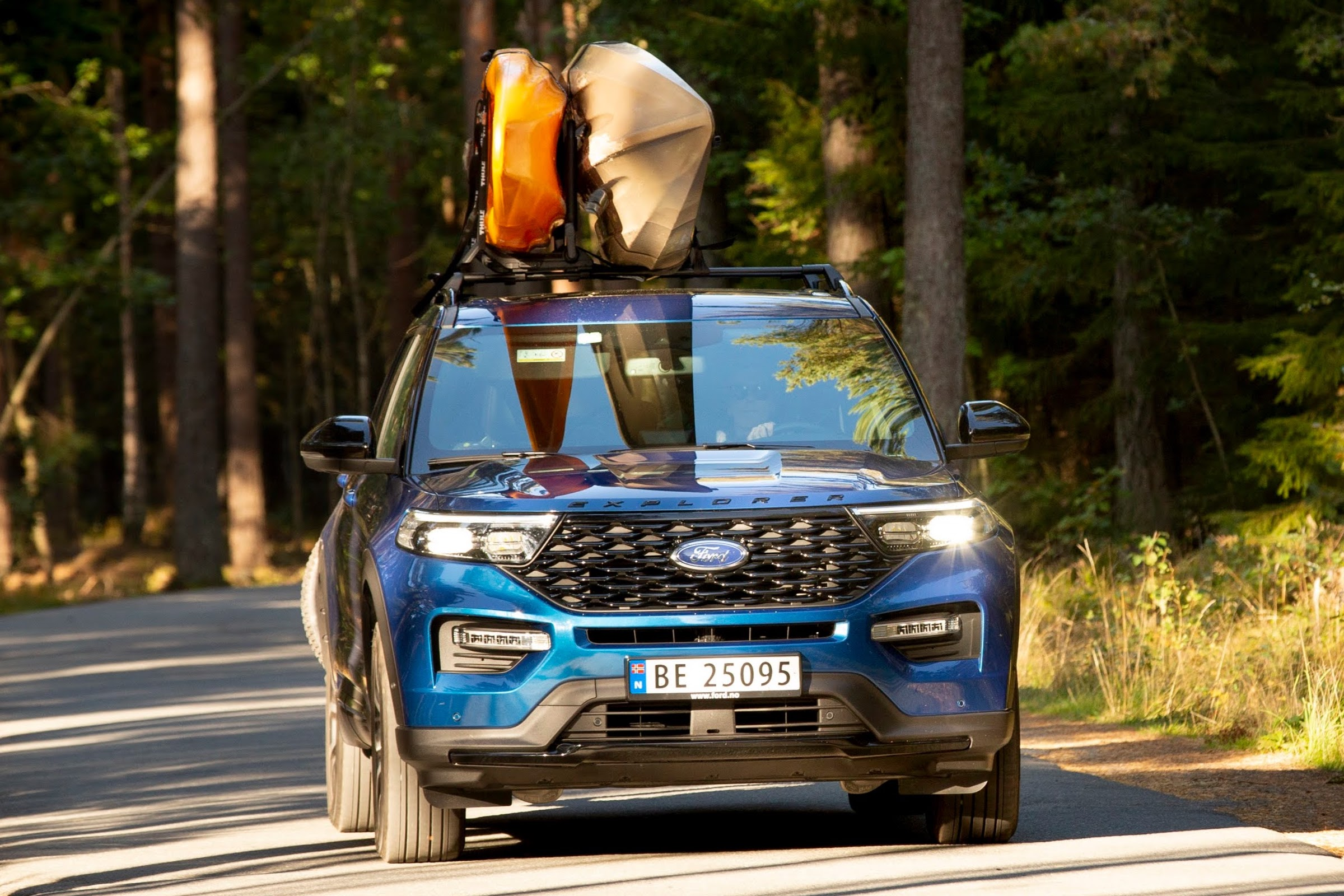 Ford and komoot team up to create Ford Weekend Adventures