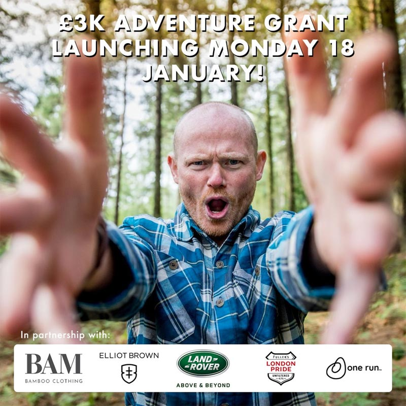 £3,000 adventure grant up for grabs