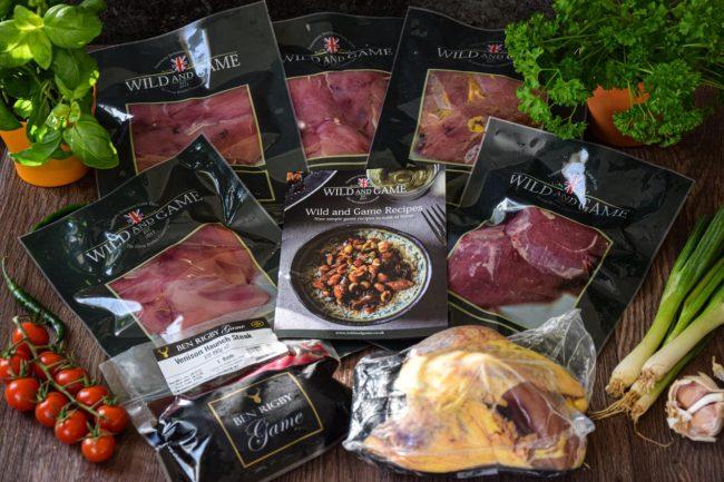 wild & game recipe box
