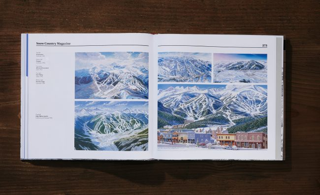 Man Behind The Maps Breckenridge Snow Country Magazine Spread