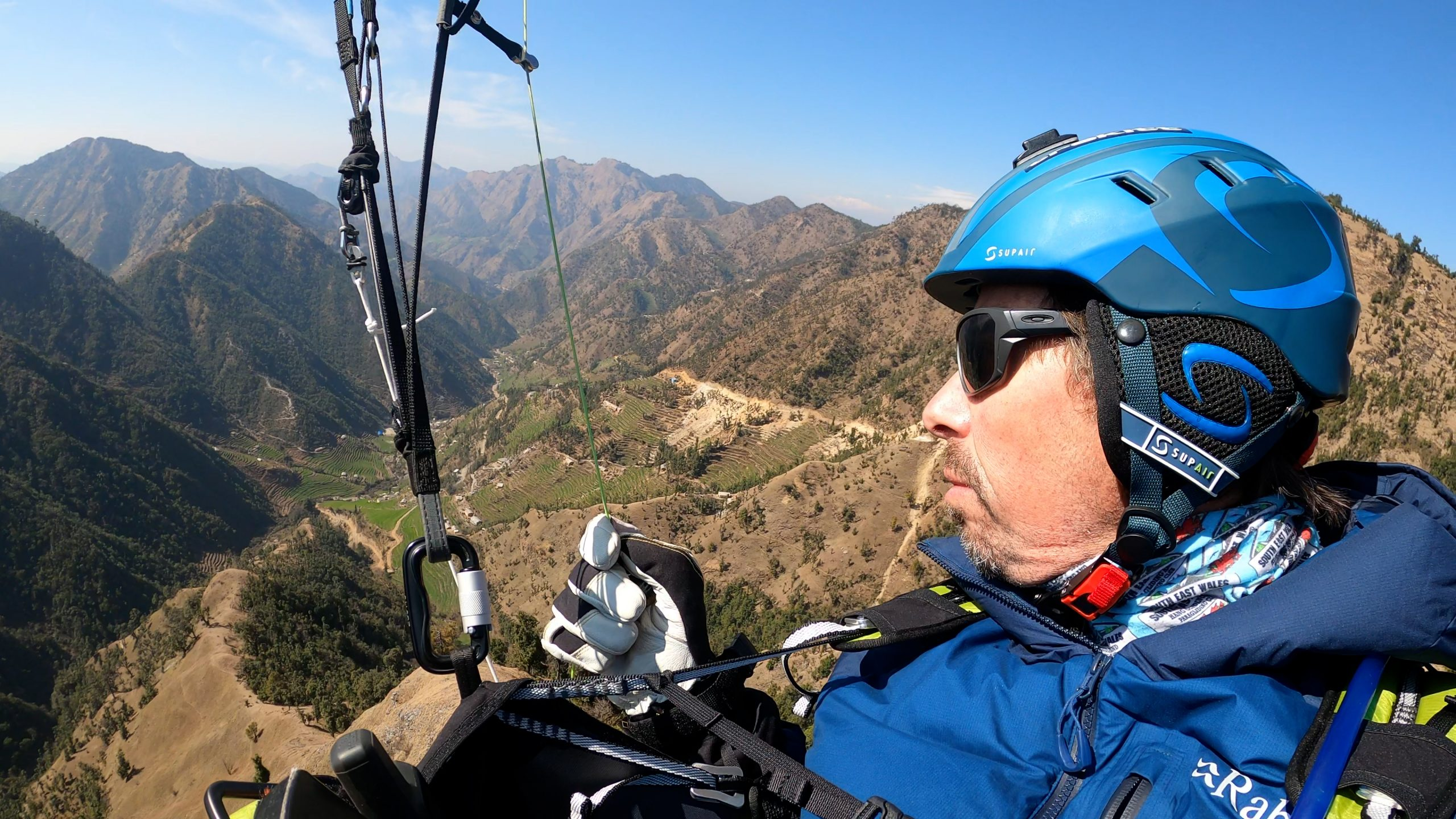 Steven Mackintosh's solo paragliding traverse of Nepal