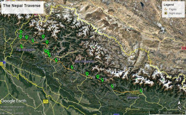 the nepal traverse