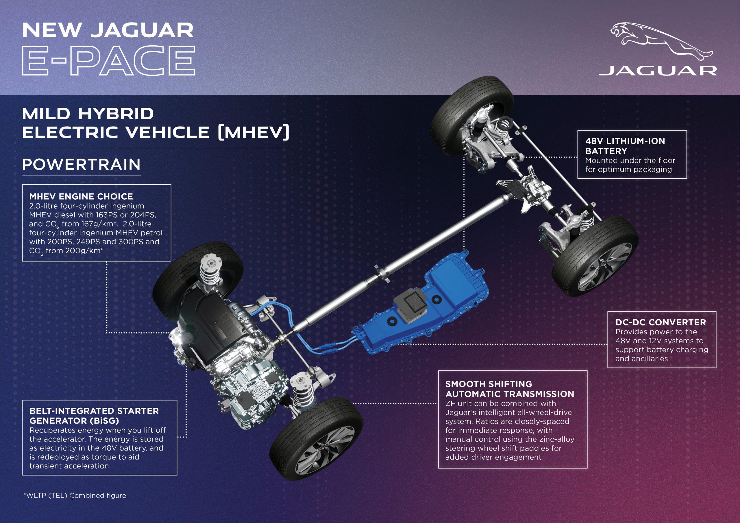 jaguar e-pace MHEV