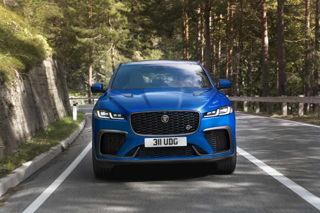Jaguar revises its F-PACE SVR and it'll growl its way to the mountains