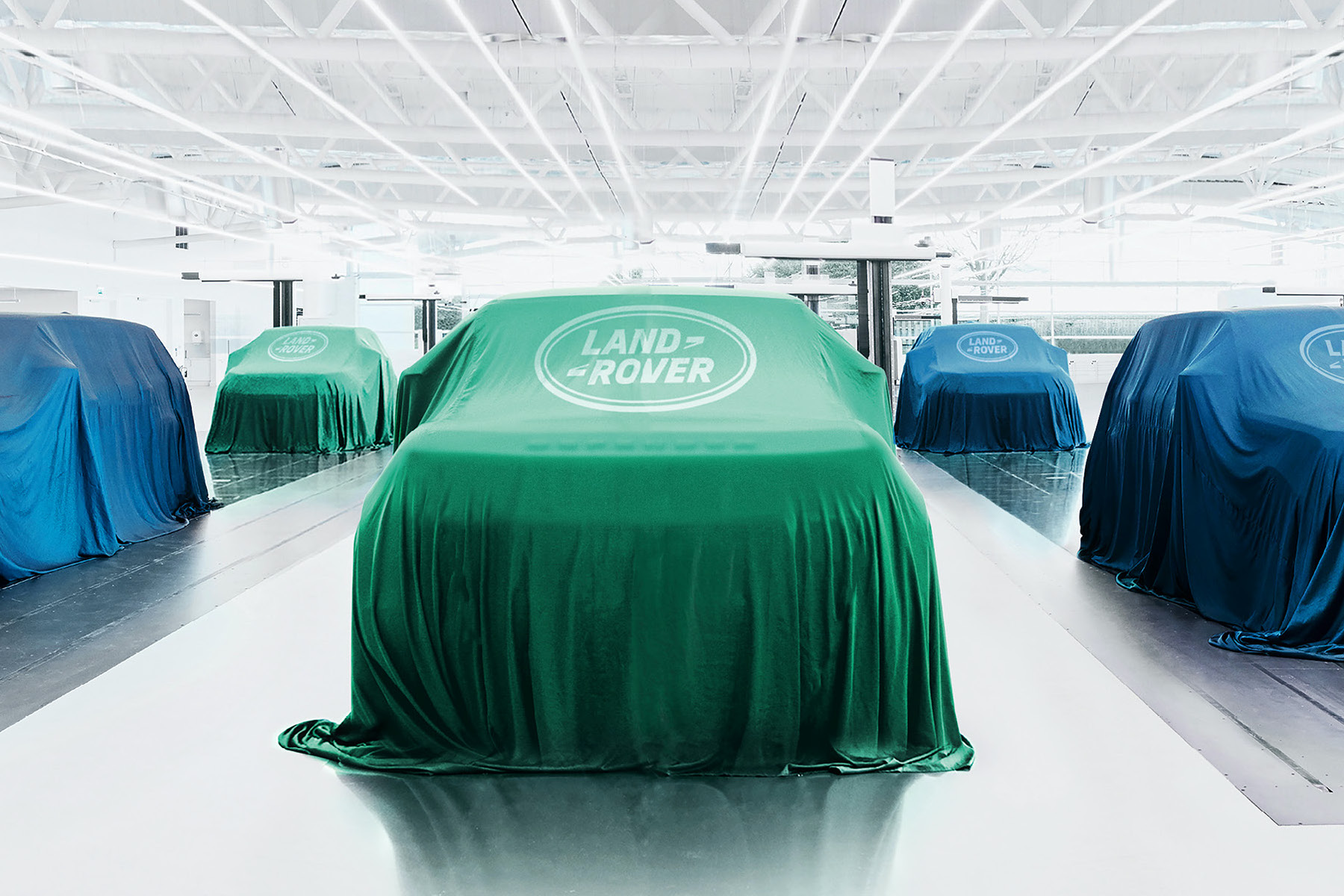 Six 'pure electric' Land Rover models in the pipeline