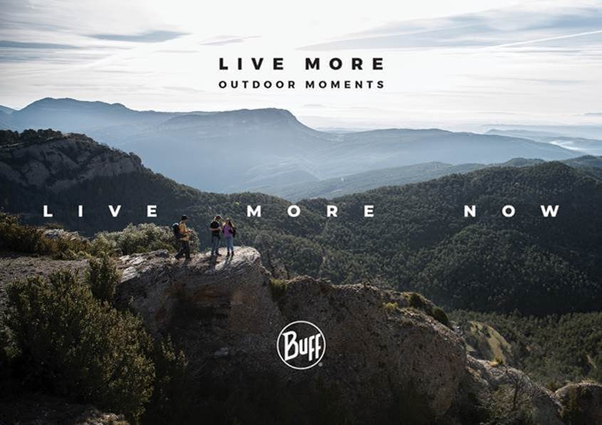 'Live More Now' campaign by Buff will make you want to get outdoors