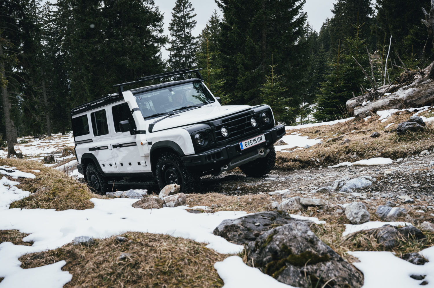 Grenadier 4×4 completes key off-road testing in Austrian mountains