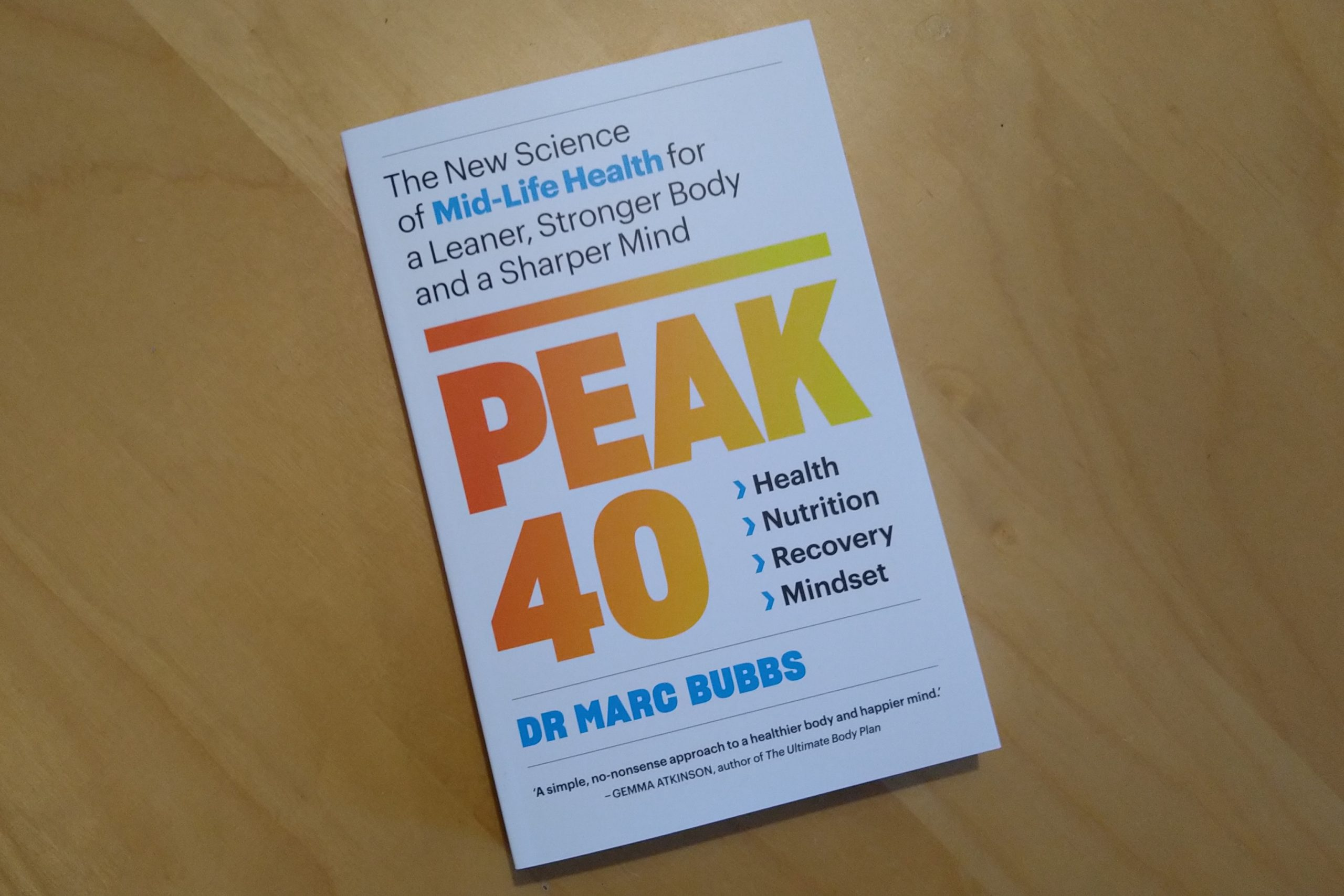 PEAK40 by Dr Marc Bubbs