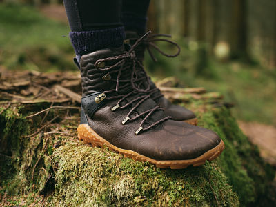 Tracker Forest ESC boots from Vivobarefoot