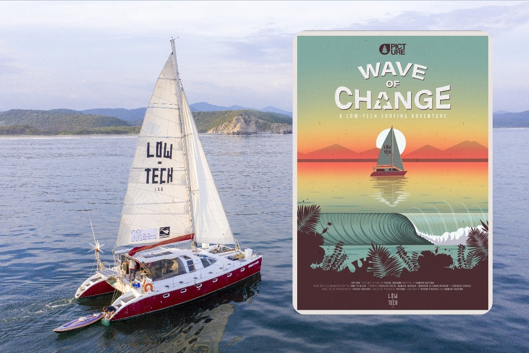 'Wave of Change' surf adventure film airs on YouTube Sun 27 June