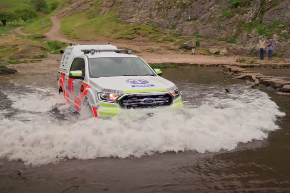 Special look at Derby Mountain Rescue Team's Ford Rangers