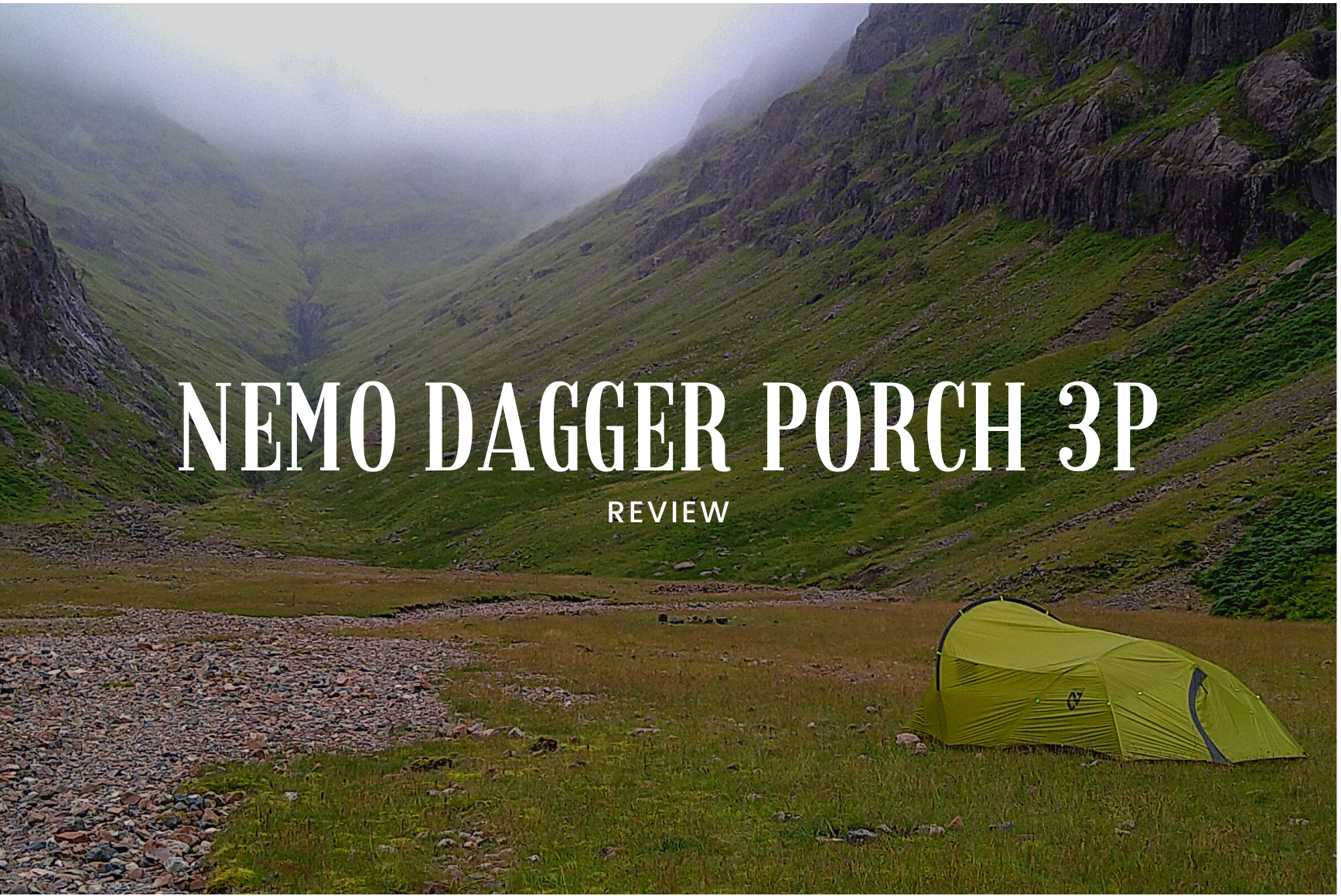 NEMO Dagger Porch tent review