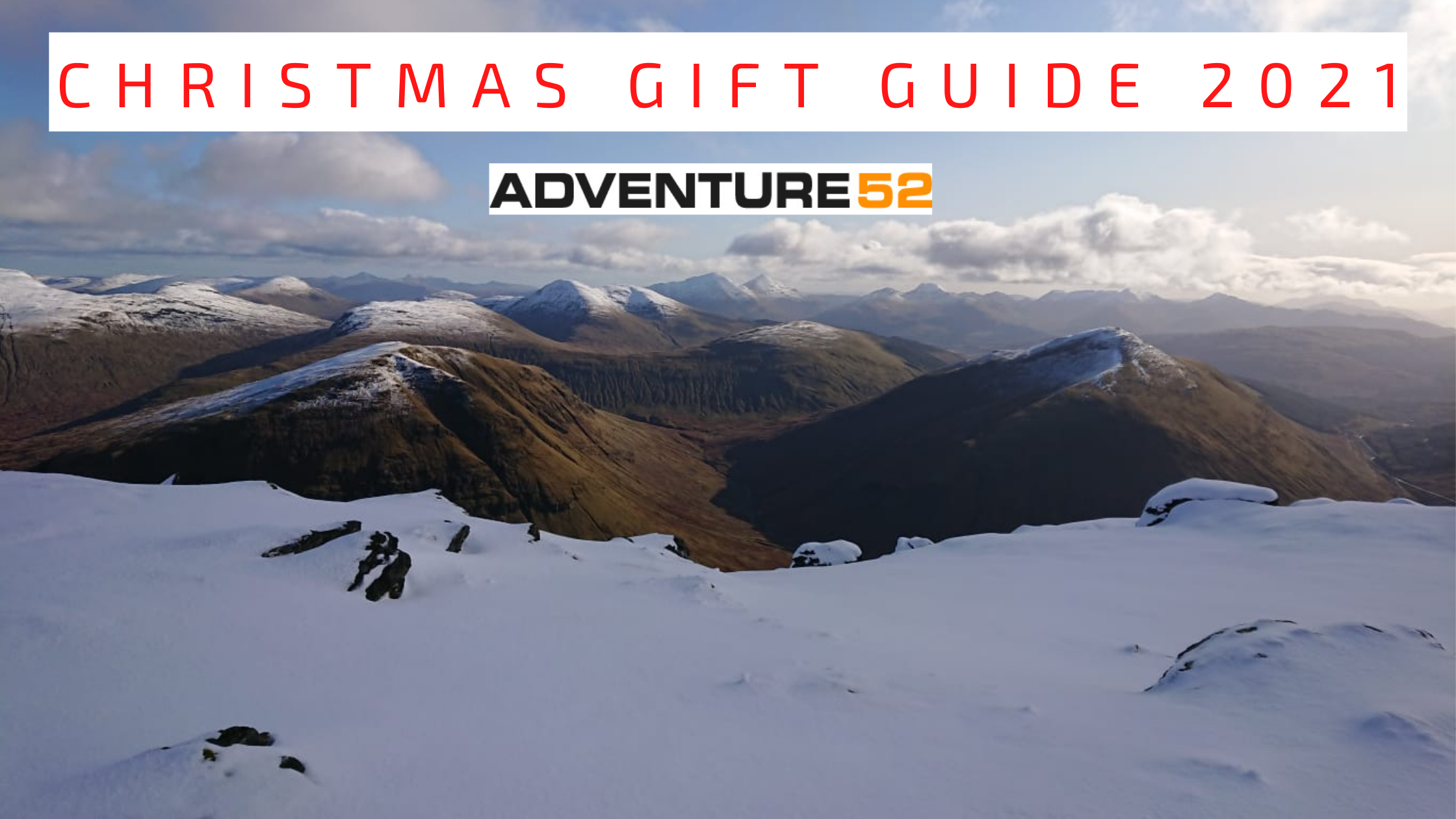 Adventure 52's Christmas Gift Guide 2021