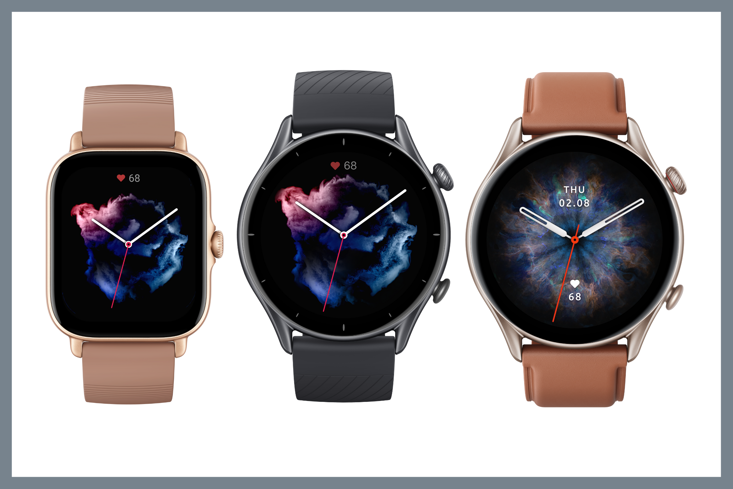 Amazfit launches GTS 3, GTR 3 and GTR 3 Pro smartwatches