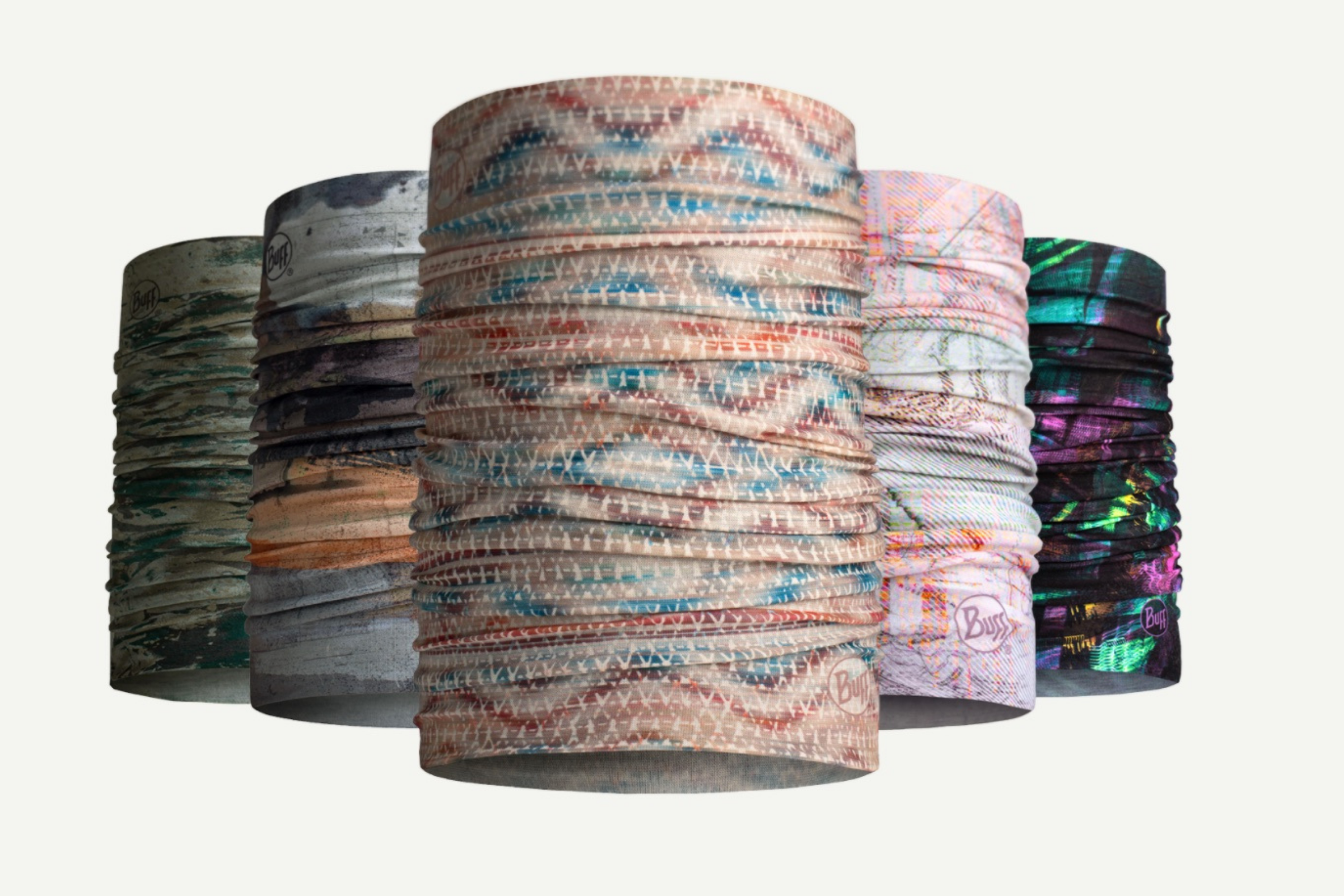 Buff makes eco-friendly neck tube called the Original Ecostretch